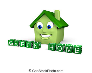 hogar, verde