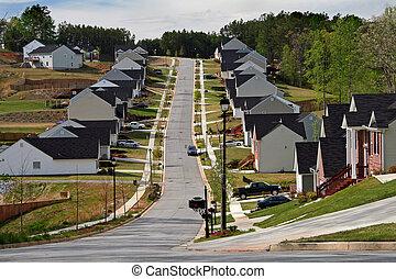 hogares, vecindad, midsize