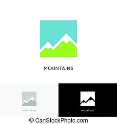hoge bergen, logo