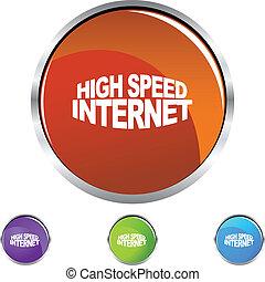 hoge snelheid, internet
