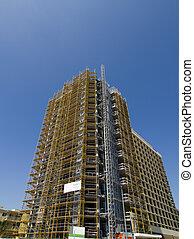 hoge stijging, bouwsector, onder