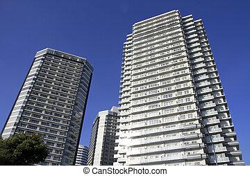 hoge stijging, condominium