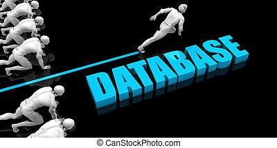 hoger, databank
