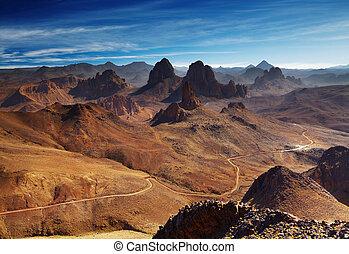 hoggar, アルジェリア, 山