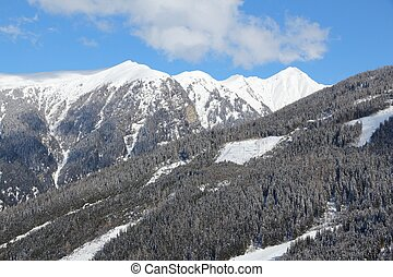 Bad Gastein, Austria. High Tauern (Hohe Tauern) mountain range in Alps.