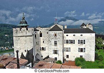 hohensalzburg, 要塞