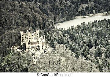 hohenschwangau 城堡