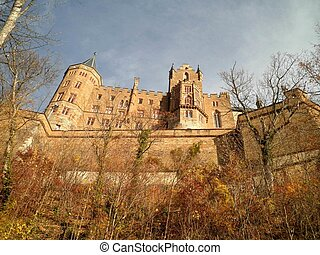 hohenzollern, allemagne, château