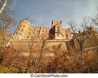 hohenzollern, niemcy, zamek