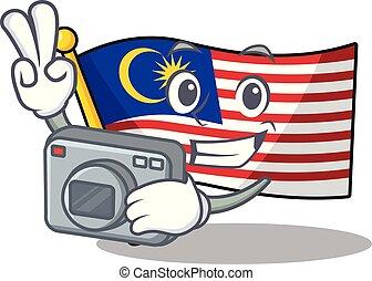 hoisted, φωτογράφος , σημαία , μαλαισία , πολωνός ,...