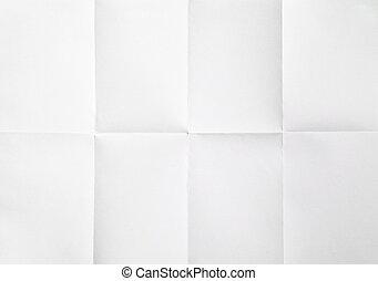 doblado en papel