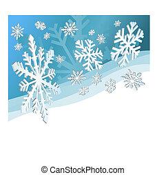 hojuelas de nieve