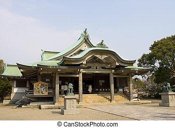 Hokoku Jinja shrine, Osaka, Japan