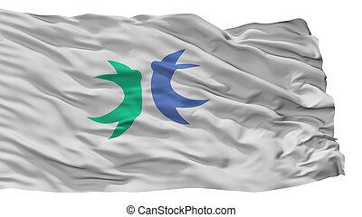Hokuto City Flag, Japan, Yamanashi Prefecture, Isolated On ...