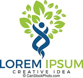 holístico, wellness, saúde, condicão física, logotipo, logo., design.