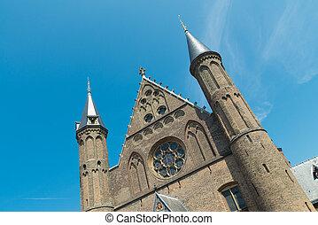 holandés, edificio del parlamento