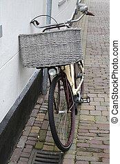 holandês, bicicleta