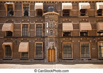 holandês, edifício parlamento
