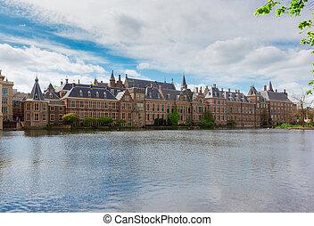 holandês, parlamento, haia, países baixos