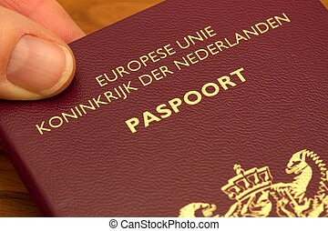 holandês, passaporte