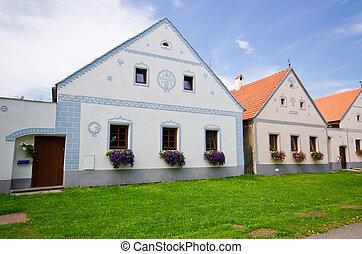 Holasovice - old Bohemian village on UNESCO heritage list