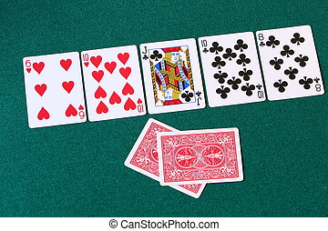 Hold em third - the river - Third in a series of four ...