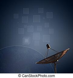 hold tál, antenna