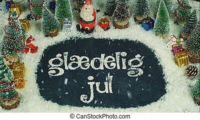 holde inde, jul, afføringen, animation, merry, engelsk,...