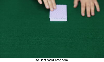 holdem, покер, дилер, with, playing, cards