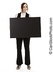 Holding a board