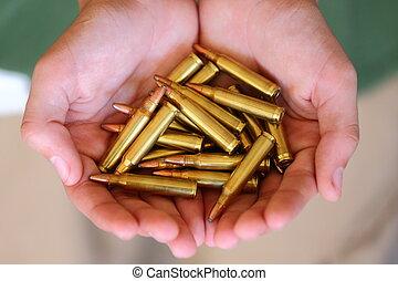 Holding Ammo