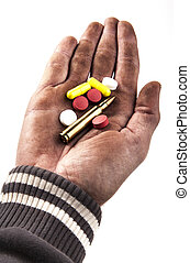 Holding Bullet
