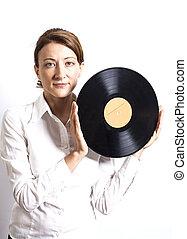 holding donna, record vinile