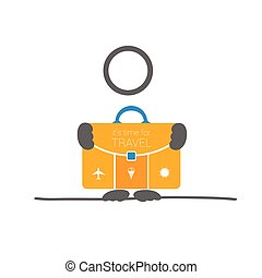 holding time for travel vector