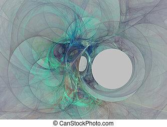 hole., abstrakt, fractal, hintergrund, schwarz