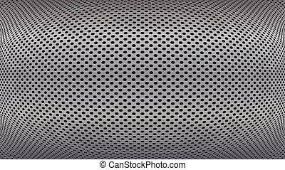 hole perforated metal plate vector background
