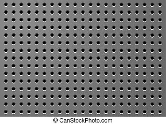 Hole_background - Sheet threw in holes