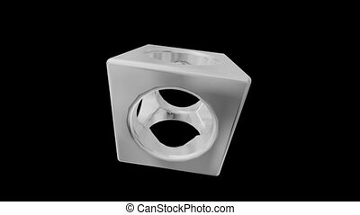 Holes In A Cube