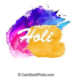 holi, fond, résumé, heureux, coloré