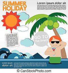 holiday., été