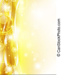 Holiday background - bright abstract holiday golden...