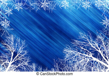 holiday background - winter holiday