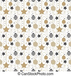 Holiday background, seamless pattern with stars. Vector illustration
