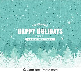 Holiday Background With Textured Effect - Illustration of a...