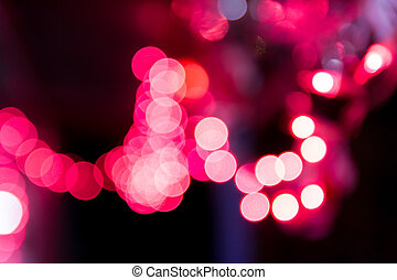 holiday bokeh. Abstract Christmas background