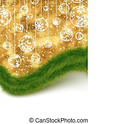 Holiday card. Christmas, New Year. EPS 8 - Holiday card....