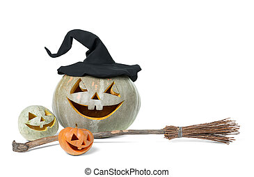 holiday carved pumpkin halloween