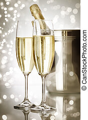 holiday champagne