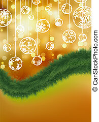 Holiday christmas abstract background. EPS 8