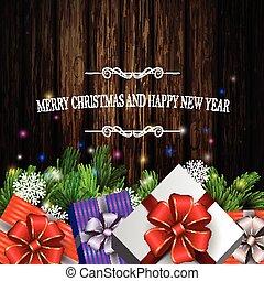 Holiday Christmas background